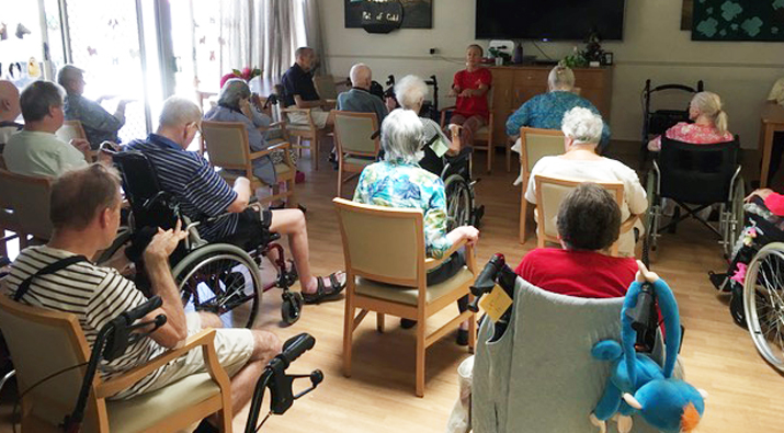 Chair Yoga for Seniors Perth