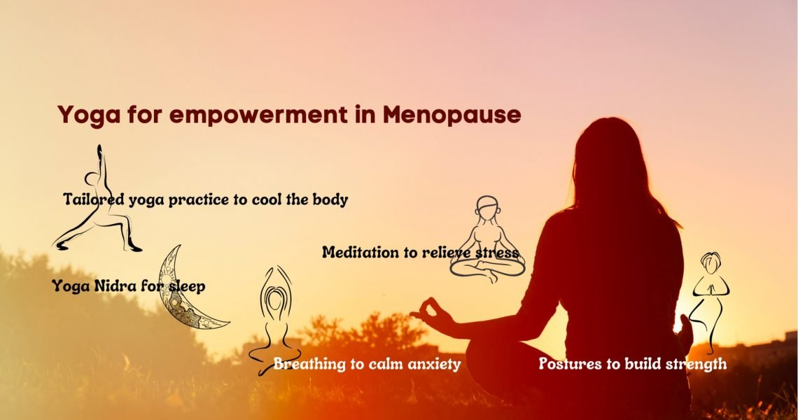 Can Yoga can help during menopause?